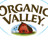 Organic Valley Logo Illustration by Steven Noble