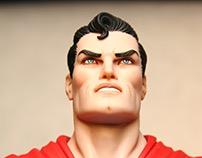 Neal Adam's Super Man Statue