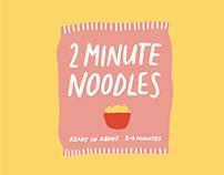 Honest Food Packaging Illustration Series