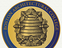 Boston Architectural College Logo by Steven Noble
