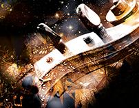 Poster Design Xmas Concert 2015 · Bodegas Coviñas