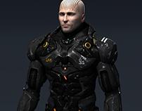 Scifi cyborg