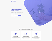 STARTUP AGENCY - WordPress Website Template Design