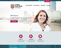 LSBU Alumni Site Design