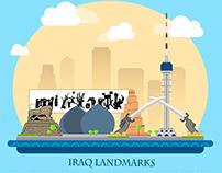 iraq landmarks -معالم العراق