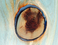 WAWA - Wooden Alaia surf board