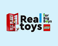 Lego. Real Toys For Big Boys