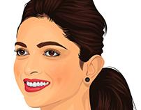 Deepika Padukone Illustration