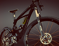 """BARRETT"" MOUNTAIN BIKE CONCEPT."