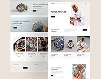MODE WATCH | Online Wristwatch Store UI Kit