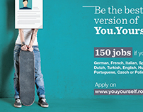 Client: Genpact- YouYourself, Agency: Marks