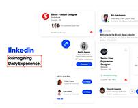 Reimagining LinkedIn UI/UX Case Study