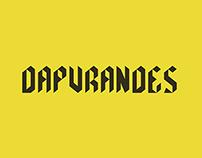 dapurandes free font