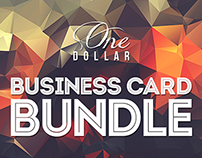 $1 Business Card Bundle