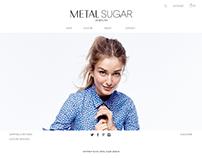 Metal Sugar Website Design