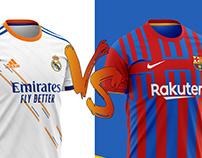 El Clasico Football Kit 21/22