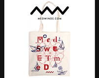 Medwinds Barcelona totes designs