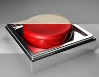 Shiny Red Button