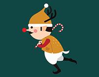 Running Christmas