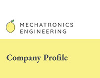 Mechatronics Engineering Company Profile Brochure