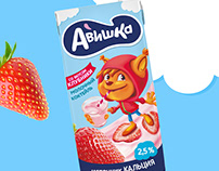 Avishka - flavored milk for children.