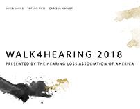 #WALK4HEARING T-shirt Project