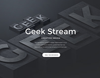 GeekStream - Logo Design