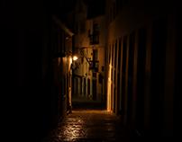 At Night In Alfama