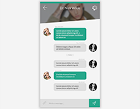 Message App UI