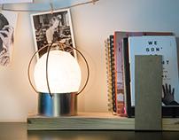 $1 Desk Lamp