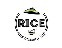 RICE - Fresh Vietnamese Grill - Logo presentation