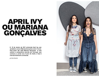 APRIL IVY /TRABALHO ESCOLA 6ºANO