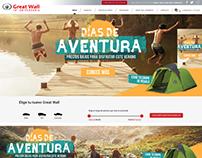 Greatwall - Desarrollo web