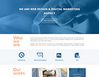 web agence home page