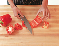 Sharpen up by honing your knife skills