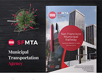 SFMTA- Annual report design