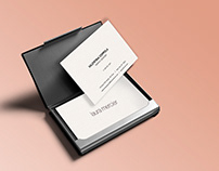 Laura Mercier - Business Cards