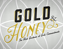 Gold & Honey Digital Print