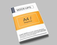 A4 Magazine / Brochure Mockup
