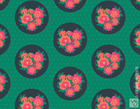Rosa [Surface Pattern Design Collection]