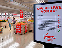 Visualizing a new store concept for Vomar.