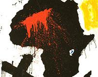 Africa · acrylic on canvas · 200 x 100cm