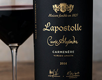 Lapostolle Wine Packaging & Logo Design
