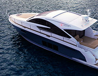 Fairline Targa 48 GT | CGI & Retouching