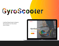 Landing Page/Gyroscooter