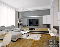 Contemporary Apartment in Oradea, Romania