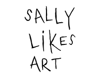 Sally likes Art - Website