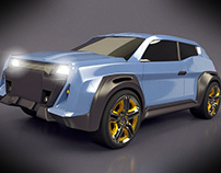 SUV concept vehicle
