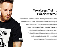 T-shirt Responsive WordPress Theme