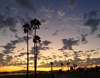 Long Beach Sunsets 2016